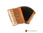 Scandalli Intense Air 37 Key 96 bass Tone Chamber accordion.  Midi systems available.